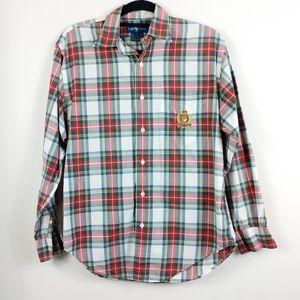 Ralph Lauren Blue Label Plaid Button Shirt